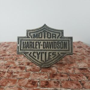 Harley Davidson Motorcycles Trailer Hitch Cover Silver Black Silver