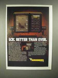 1986 Humminbird LCR 4000 Depth Sounder Ad - Better