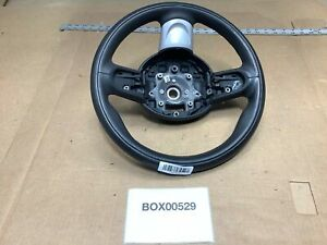 2008 Mini Cooper S R56 Hatchback Front Driver Side Steering Wheel Leather Oem