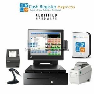 Pcamerica Pos Cash Register Clothing Store Thirft Retail Store W barcode Print