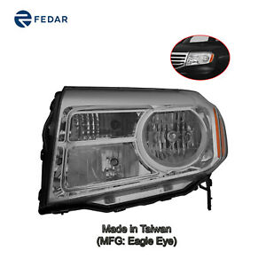 Halogen Headlight Lamp Fit 2012 2013 2014 2015 Honda Pilot Driver Side