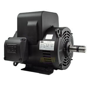 7 5 Hp Replacement Motor 1 Phase 3520 Rpm 213t For Ingersoll Rand Compressors