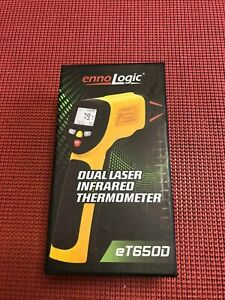 Brand New Ennologic Temperature Gun Dual Laser Non contact Infrared Thermometer