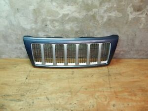 Jeep Grand Cherokee Wj 2004 Blue Silver Front Grille Grill