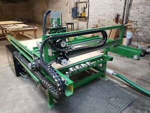 2017 4 x8 Cnc Router With Auto Tool Change Vacuum Bed Pc And All Software