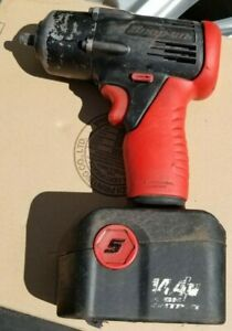 Snap On 3 8 Drive Cordless 14 4 Volt Impact Wrench Works Great With Battery