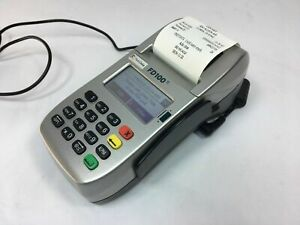 First Data Fd100 Ti debit credit Card Terminal Works Tested