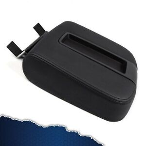 For Cadillac Chevy Gmc Pickup Truck 07 14 New Center Console Armrest Lid Black