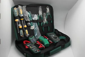 Mastech Electrician Kit Ms5902 Ms8233b Ms2008a Ms6906 Clamp Meter Tool Set Usa
