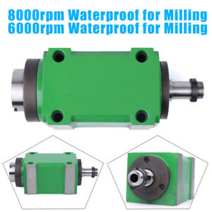 6000 8000rpm Spindle Unit 2hp Power Head For Cnc Engraving Milling Machine 1 5kw