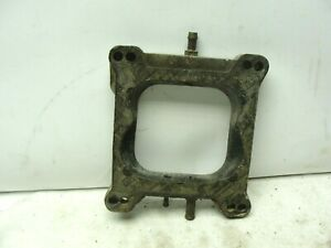 Oem Ford Carburetor 3 4 Spacer Holley 4 Barrel Square To Spread Bore