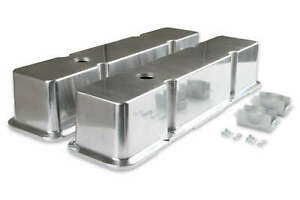Mr Gasket 6854 Polished Aluminum Tall Valve Covers Small Block Chevy