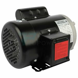 3 4hp Electric Motor For Air Compressor Single Phase 1750rpm 60hz 115 230v