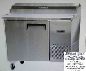 Bison Refrigeration Bpt 44 Refrigerated Counter Pizza Prep Table