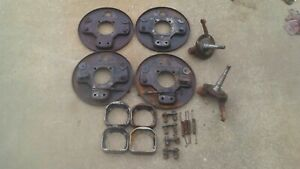 1939 Ford Spindles And Hydraulic Brakes 1932 Flathead V8 1934