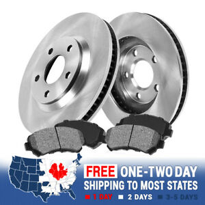 Front Brake Rotors And Metallic Pads For 2004 2005 2006 2007 2008 Chevy Malibu