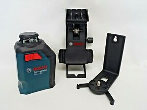 Bosch 360 degree Self leveling Cross line Laser Gll 2 20 With Mount