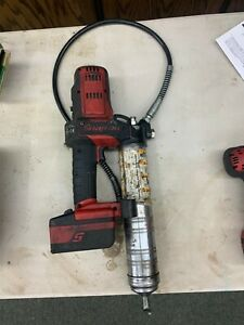 Snap On Cordless 18v Grease Gun Cgg4850 With Battery No Charger