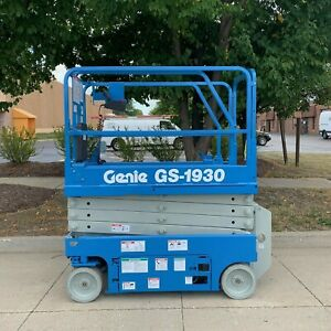 2020 Refurbished Genie Gs1930 Scissor Lift Win Win Equipment