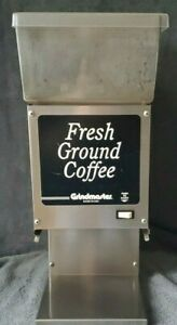Grindmaster 190 Coffee Grinder Fresh Ground 6lb Bulk Commericial Stainless Steel