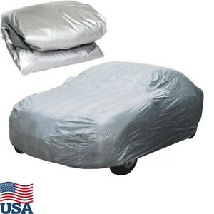 Xxl Large Full Car Cover Waterproof Sun Snow Uv Rain Resistant Universal Storage