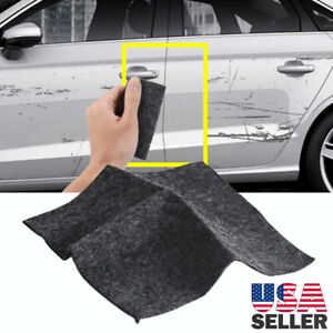 Us Scratch Eraser Magic Car Scratch Repair Remover Nano Cloth Surface Rag