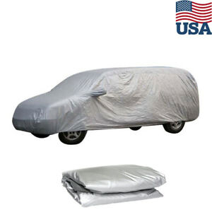 Yxl Large Full Car Cover Waterproof Uv Sun Snow Rain Resistant For Suv Van Truck