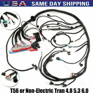 Standalone Wiring Harness T56 Or Non electric Tran 4 8 5 3 6 0 1999 2006 Dbc Ls1