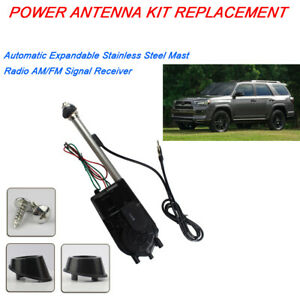 Power Antenna For Toyota Sequoia 2001 2007 Electric Aerial Kit Car Radio Replace