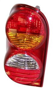 Tail Light Assembly Left Crown 55155829af Fits 02 04 Jeep Liberty