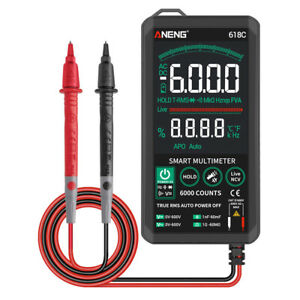 Aneng 618c Voltage Meter Digital Multimeter Ac dc Volt Resistance Tester