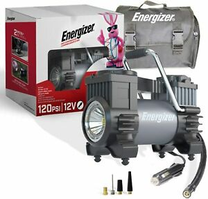Energizer Dual Air Compressor Inflator Ideal For Truck Bus Suv 4x4 Rv Tires
