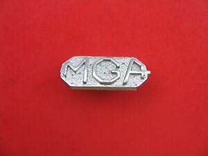 Mgb Mg Emblem Badge Symbol Logo Sign Used Vintage Used B7717