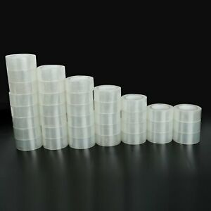 36 Rolls 1 9 x110 Yards 330 Foot Box Carton Sealing Packing Package Tape Clear