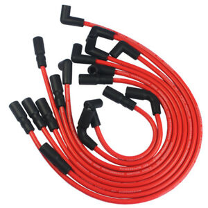 Red Spark Plug Wires For Gmc Jimmy Sonoma Safari 1995 2001 Vortec V6 4 3l 262