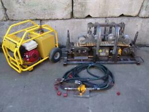 2013 Cbs C 1350 Hydraulic Cable Pusher Tugger Condux W Power Pack