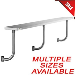 Stainless Steel Adjustable Work Surface Equipment Stand Table Shelf Attachment