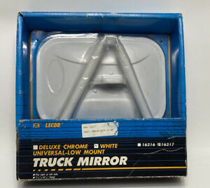 Lecor Truck Replacement Side Mirror Universal Low Mount Fits Right Or Left