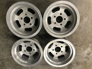 Ansen Automotive Sprint 13 X 7 Wheel Slot Slotted Mag 5x4 75 Corvair Chevy