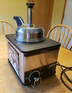 Server 81140 Fspw ss Nacho Cheese fudge Topping Dispenser Condiment Warmer