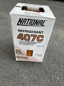 R22 Refrigerant Replacement 407c 25 Lb Virgin Factory Sealed R407c Cylinder