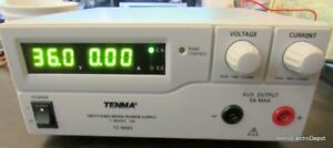 Tenma 72 9465 Switching Bench Power Supply 36v 5a Works Great