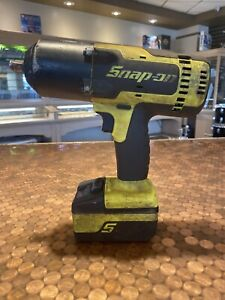 Snap On Tools Ct8850hv 18 Volt Monster 1 2 Inch Impact Wrench W Battery