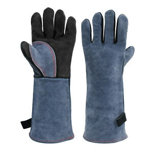 Hitbox Mig Welding Gloves Tig Welding Gloves Oven Glove Safety Protection Gloves