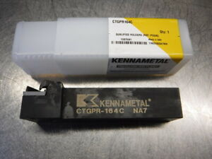 Kennametal 1 Indexable Lathe Tool Holder Ctgpr164c loc1553a