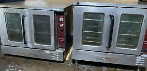 Southbend Silverstar Commercial Electric Double Deck Convection Oven W 6in Legs