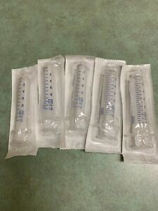 5 Pack 10ml Sterile Syringes Luer Lock seller Will Be Out From 9 24 To 10 18 20