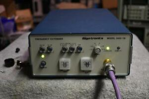 Gigatronics 840 18 Frequency Extender 18 To 40 Ghz Out With 8 6 13 4 Ghz In