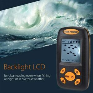 Fish Finder GPS Combo 100m Depth Fishfinder Sonar Sensor Echo Transducer Alarm
