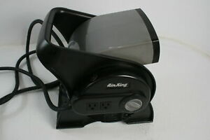 See Notes Air King 9550 3 Speed Pivoting Utility Blower Air Mover W Outlets